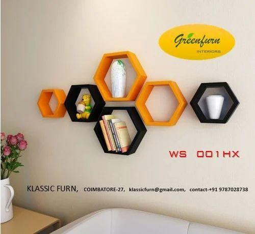 hexagon wall shelves at rs 1700 set gandhipuram coimbatore id rh indiamart com hexagon wall shelves australia hexagon wall shelves australia