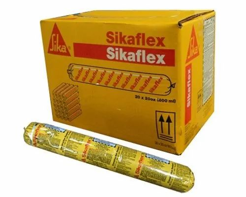 Sikaflex Construction  - Sealant For Concrete And Masonry Facades, Packaging Size: 600 mL