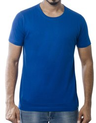 Round Neck Half Sleeve T Shirts for Men