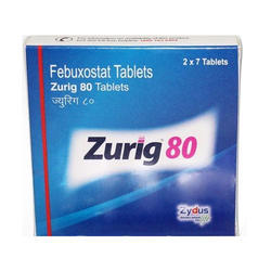 Zurig 80mg Tablets