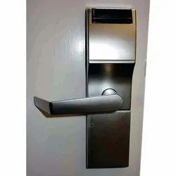 Cast Metal Mortise Electronic Door Lock, Satin