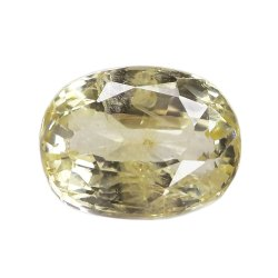 Eye Clean Natural Ceylon Yellow Sapphire