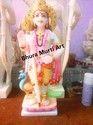 Marble Murugan Statue
