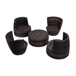 Outdoor Round Table And Chair Set