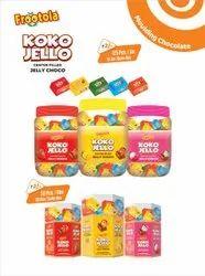 Chocolate Jelly Koko Jello, Packaging Type: Jar