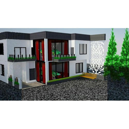 3d Home Elevation Design Service in Palika Plaza, Indore, Abhiraj ...