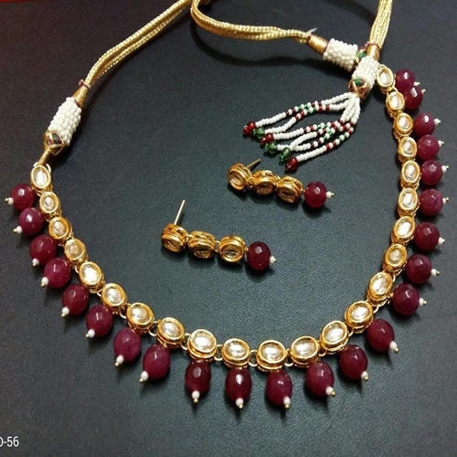 oxidised necklace oxd beads products making red for pendants img side nn jewelry long