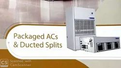 Commercial AC Packaged and Ducted Splits ACs Blue Star Make