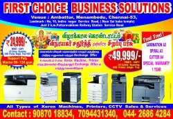 XEROX MACHINE SALES AND SERVICE