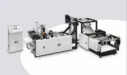 Fully Automatic Non-Woven D-Cut Bag Making Machine