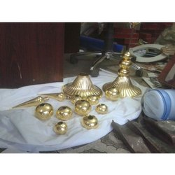 Golden Finial Sculpture