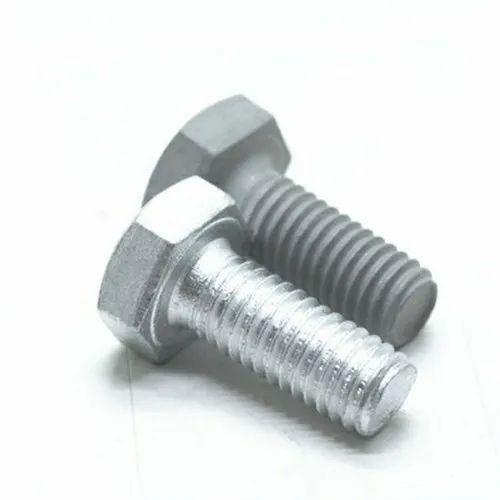Mild Steel Hex Bolt, Packaging Type: Box