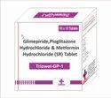 Glimepiride 1mg  Pioglitazone 15 mg Metformin HCL 500
