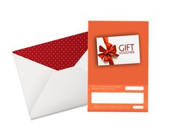 18 To 70+ Years Perfect Voucher Greeting Card, Automatic Grade: Automatic, Size Of Business Card: A5