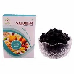 Valuelife Dried Black Grapes, Packing Size: 100 Kgs, Packaging Type: Box