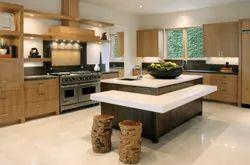 Residential Island Kitchen