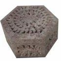 Soapstone Trinket Jewelry Storage Box