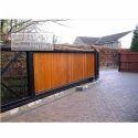 Slide Mild Steel Cantilever Sliding Gate, For Commercial