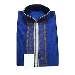 Men's Blue Kurta