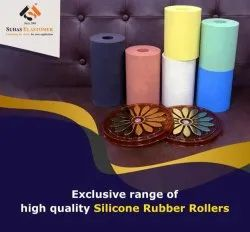 Silicone Rubber Rollers