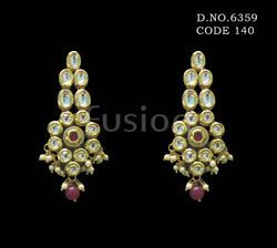 Designer Kundan Earrings