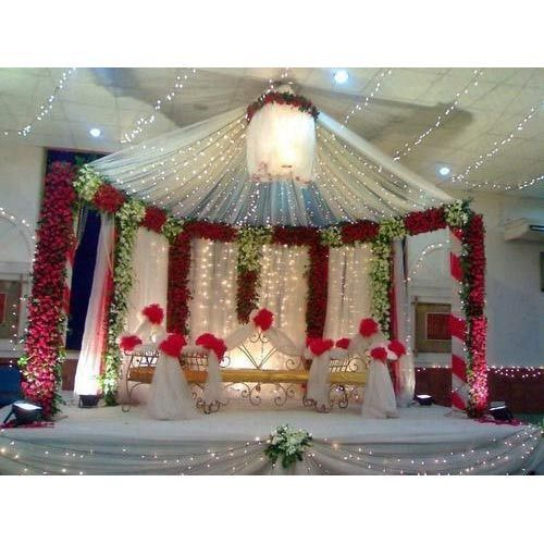 Wedding stage decorative wedding stage manufacturer from pune wedding stage get best quote junglespirit Gallery