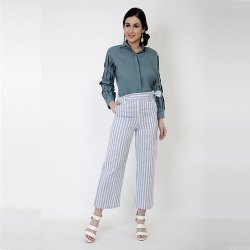 Teal Trends Pant Set