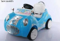 Blue Baybee Buddy Battery Operated Ride- On Car