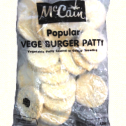 Deep Fry McCain Popular Burger Patty, Packaging Type: Box