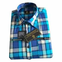 Mens Casual Checked Shirt, Packaging Type: Packet