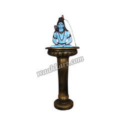 Divine Shivji Statue On Antique Looking Designer Pot