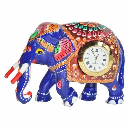 Meena Metal Elephant Watch
