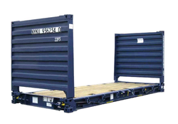 20'' Flat Rack Container