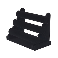 Plastic Bangle Display Stand, Outer Material: Velvet