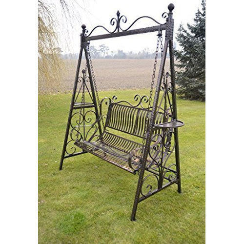 Black Wrought Iron Outdoor Swing Rs 12500 Unit Precision