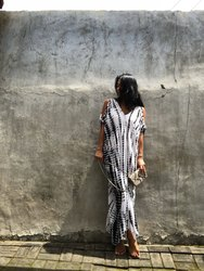 Tie Dye Woman Kaftan