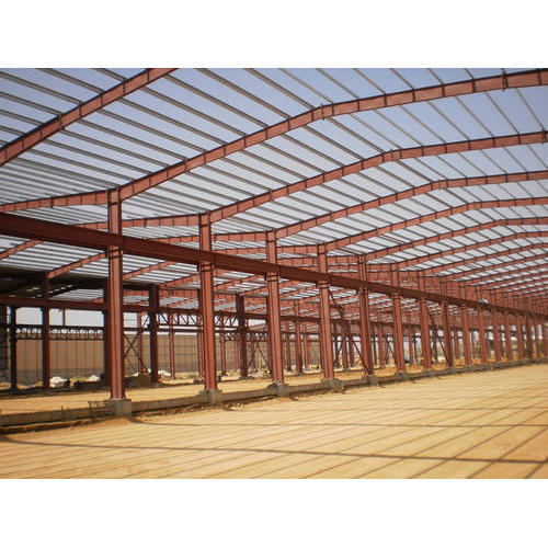 Mild Steel Railway Station Prefabricated Structures