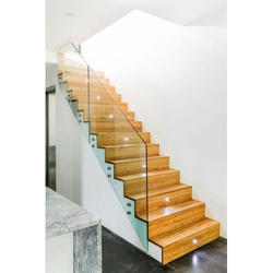 Panel Toughened Glass Staircase Railings