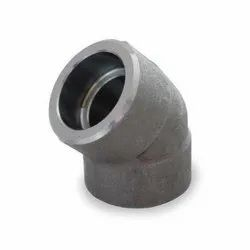 Carbon Steel Socket Weld Elbow 45