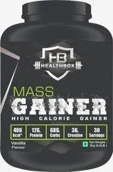 Healthbox Mass Gainer Vanilla Flavor, Treatment: Increase Body Protein