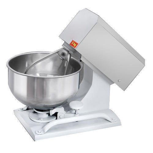 JMKC Stainless Steel 5 Kg Dough Kneading Machine, 0.5 Hp, 55 Kg