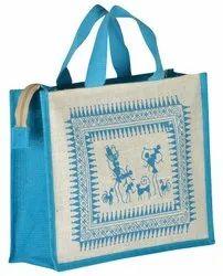 Jute Plain Tote Bag