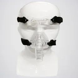 Transparent Silicone Nasal CPAP Mask, For Home