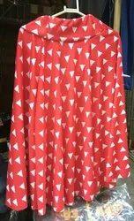Print Short skirt