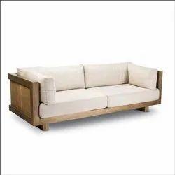 Modern Teak Wood Sofa