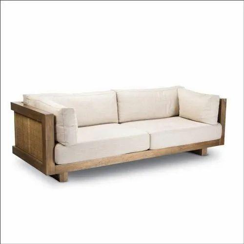 Modern Teak Wood Sofa À¤Ÿ À¤• À¤¸ À¤« Vasant Gadi Karkhana Furnishing Pune Id 20305924597