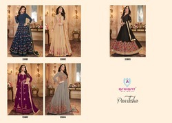 Designer Embroidered Anarkali Suits