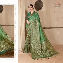 Fancy Party Wear Silk Saree