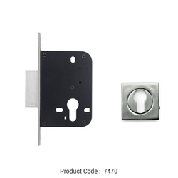 Godrej 160 Mm Euro Deadlock With Rose Rings