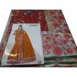 Ladies Ethnic Saree, 5.5 M (separate Blouse Piece)